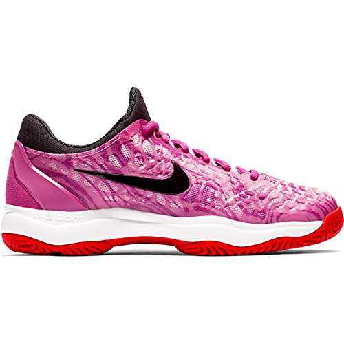 Nike Women's Zoom Cage 3 Tennis Shoe (9.5 B US, Active Fuchsia/Black/Psychic Pink)