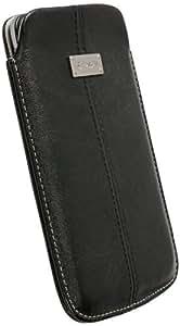 Krusell Luna - Funda de cuero para Samsung Galaxy Note, color negro