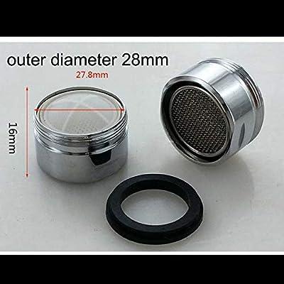 F-MINGNIAN-SPRING Filtro de Agua 1pc Adaptador de Plata de Ahorro ...