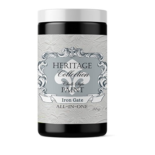 Iron Gate, Heritage Collection All In One Chalk Style Paint (NO WAX!) (32oz)