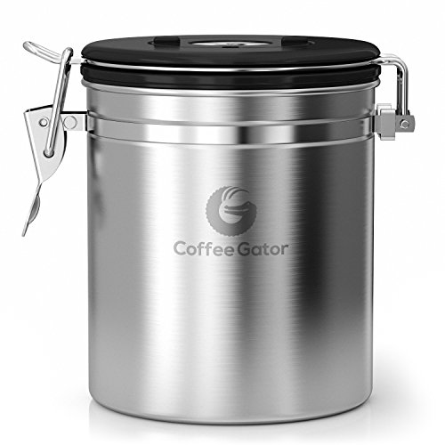 Damaged Kitchen Appliances For Sale: Coffee Gator Stainless Steel Container