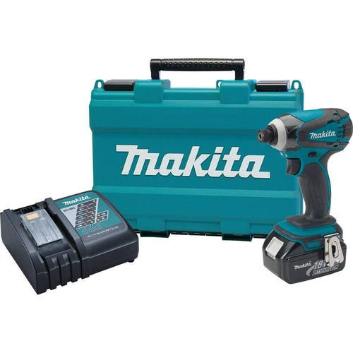 Makita XDT042-R 18V LXT Cordless Lithium-Ion 1/4 in. Impact Driver Kit (Certified Refurbished) by Makita