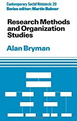 Research Methods and Organization Studies (Contemporary Social Research)