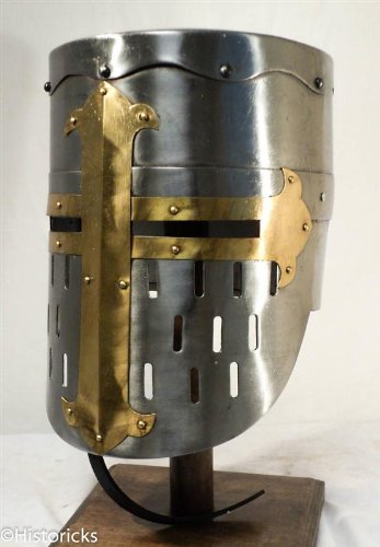 MedievalKnight Helmet  reenactment   larp   roleplay   fancydress