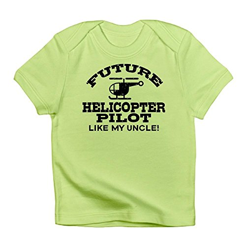 Helicopter Future Pilot - CafePress - Future Helicopter Pilot Like My Uncle Infant T-Shi - Cute Infant T-Shirt, 100% Cotton Baby Shirt