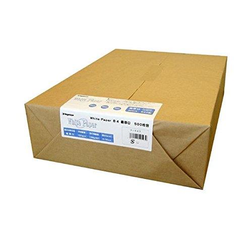 (まとめ) 長門屋商店 ホワイトペーパー B4 最厚口 135kg ナ-543 1冊(500枚) 〔×2セット〕 B07GTN5YFG