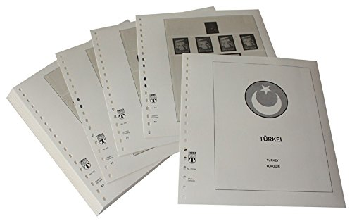 Lindner T Vordruckblätter T315 44 Türkei - Jahrgang 1944 bis 1954