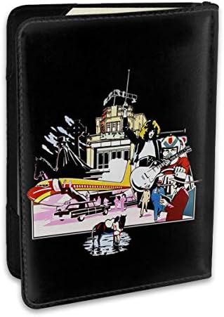 レッド・ツェッペリン パスポートケース パスポートカバー メンズ レディース パスポートバッグ ポーチ 収納カバー PUレザー 多機能収納ポケット 収納抜群 携帯便利 海外旅行 出張 クレジットカード 大容量