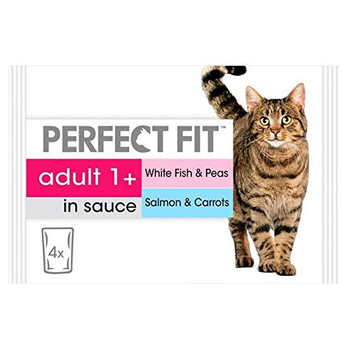 4X Cat Pouches Adult 1+ Mixed Fishy 4 x 85g