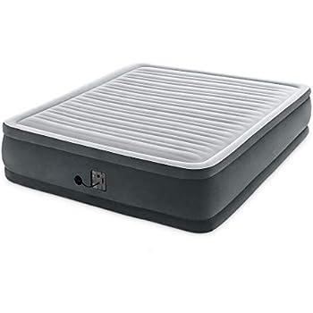 Amazon.com: Intex Comfort Plush Elevated Dura-Beam Airbed ...