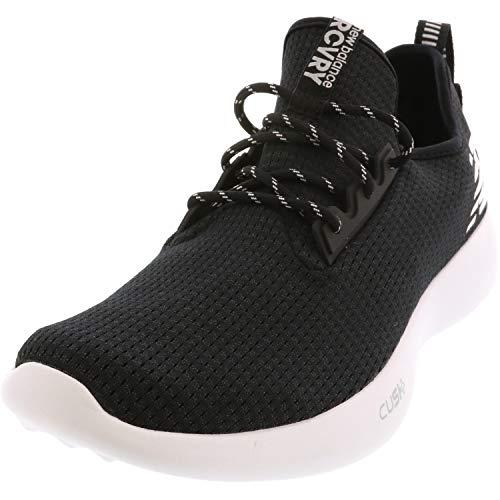 New Balance Men's NB Recovery v1 Transition Lacrosse Shoe, Black, 10 D US