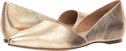 Gold Flat Pointed Samantha Naturalizer Women's Toe xFXIIU