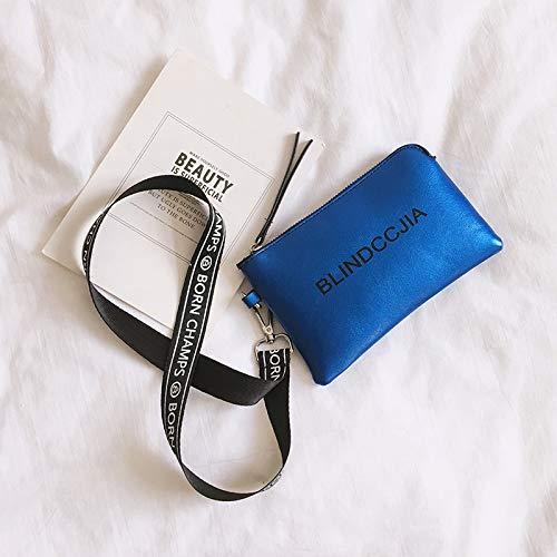 Bleu Mode Sac nbsp;Chao la coréenne en bandoulière Portable Sauvage épaule de Version de téléphone WSLMHH personnalité qZx1d0X0