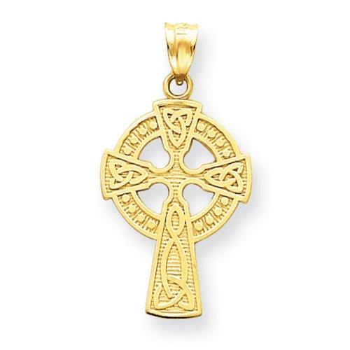 Icecarats Créatrice De Bijoux 14K Pendentif Croix Celtique