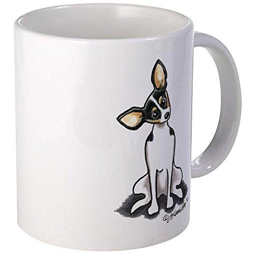 CafePress Rat Terrier Sit Pretty Mug Unique Coffee Mug, Coffee Cup