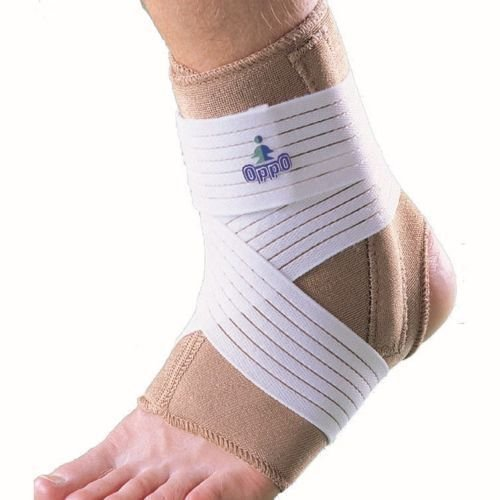 OPPO 1008 ANKLE STABILISER with DOUBLE STAYS Strap Brace Sprain Relief Support (Extra large) by SDA CARE by OPPO Supports