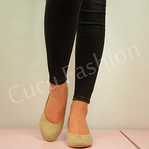 Cucu Fashion - Sandalias con cuña mujer Beige - beige