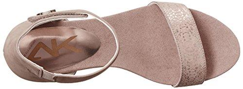 Anne Klein Sport Calbert Femmes US 10 Beige Sandales Compensés