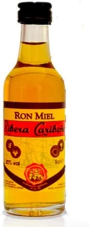 Ron Miel Ribera Caribeña 5cl: Amazon.es: Alimentación y bebidas