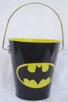 DC Comics BATMAN Party Loot Treat TIN PAIL (4 3/4