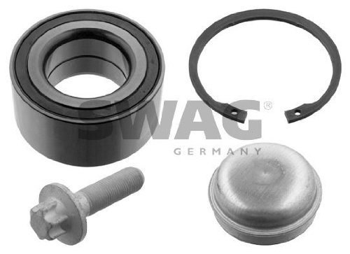 SWAG Wheel Bearing Kit Front Axle Fits MERCEDES W245 W169 Hatchback 1699810006