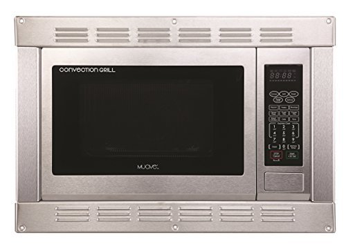 1.0 Cubic Foot, 120v Cul Stainless Steel Microwave Convection Oven and Grill with Built-in Trim Kit (Small Convection Microwave Oven compare prices)