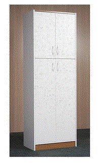 Etonnant Orion 4 Door Kitchen Pantry, White   Kitchen Furniture Decor Storage  Cabinet Shelf Organizer