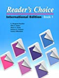 Reader's Choice : International Editions, Baudoin, E. Margaret and Bober, Ellen S., 0472081853