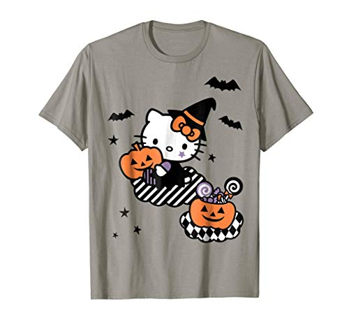 Hello Kitty Trick or Treat Halloween Tee Shirt