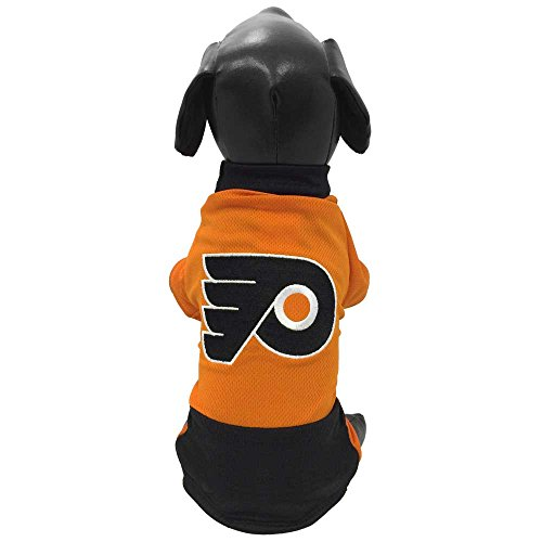 All Star Dogs NHL Philadelphia Flyers Athletic Mesh Dog Jersey, Medium, - Jerseys Dog Nhl