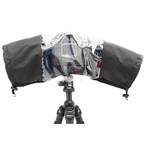 O.N.E RC-1 Rain Cover Rain Proof Dust Protector For Nikon D5300 D5200 D5100 D5000 D3300 D3200 D3100 D3000 D90 D70 D70S D600 D610 D800 D810 D7100 D7000 Canon EOS 700D 650D 600D 550D 500D 7D 5D 5D Mark II III with lens size less than 250mm*170mm*140mm