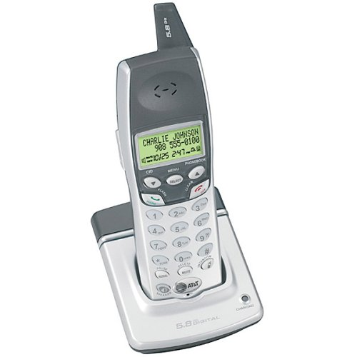 - AT&T E560-1 5.8 GHz Digital Cordless Expansion Handset with Caller ID/Call Waiting