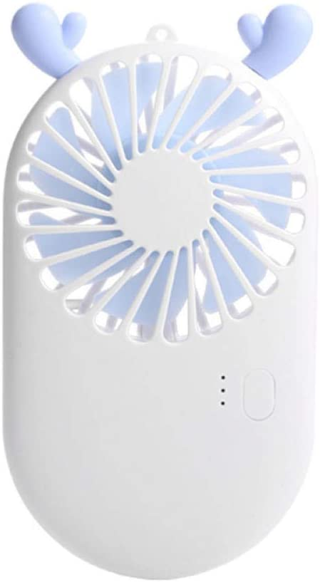 Portable Mini Fanhandheld Mini Fan Bracket USB Small Fan Gift to Cool Down at Any Time@Fawn/_Standard