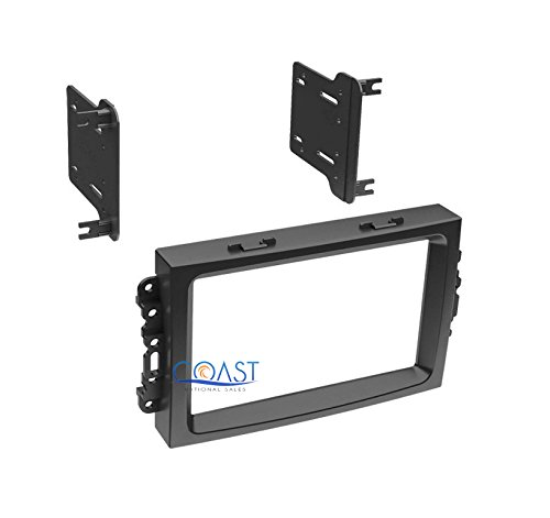 Xscorpion CHR-K0408DD Single/Double DIN Stereo Installation Dash Kit for Select 2005-2007 Chrysler/Dodge/Jeep Vehicles ()