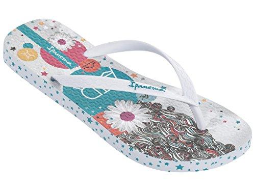Ipanema - Sandalias de Caucho para mujer multicolor multicolor weiß (21552)