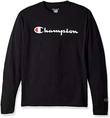 Champion LIFE Men's Cotton Long Sleeve Tee,