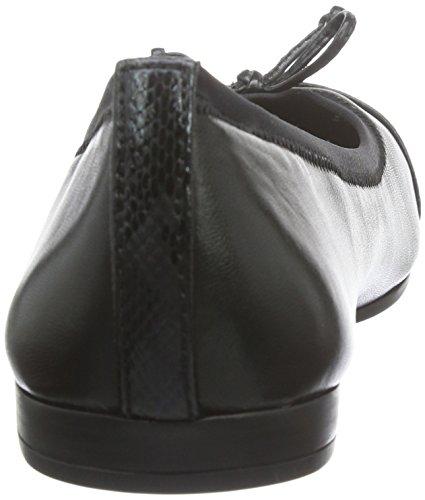 Tamaris 22110, Bailarinas para Mujer Negro (BLACK/BLK MET 094)
