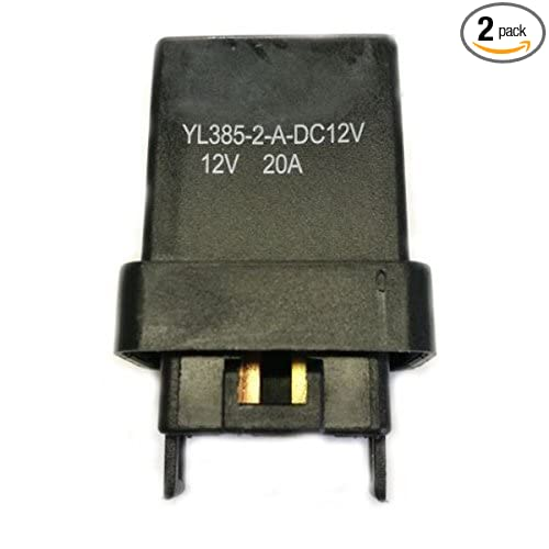 2 Pack 12V 20A 4 Pin Automotive Accessory Relay RY209T 1R1114 1R1416 AR443