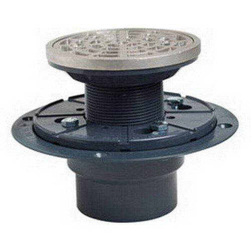 Soux Chief 821-200ANQ Abs Drain and Shower Pan Ring and Strainer