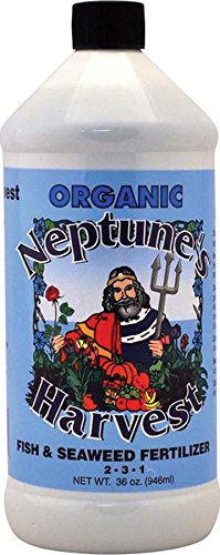 Neptune's Harvest Organic Hydrolized Fish & Seaweed Fertilizer