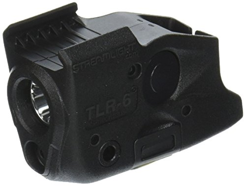 - Streamlight TLR-6 Tactical Pistol Mount Flashlight 100 Lumen Only for Glock Railed Hand Guns, Black - 100 Lumens