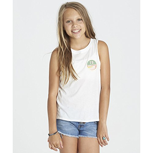 Billabong Girls' Girls' Wing Spirit Patch Tank Cool Wip Billabong Girls Tank Top