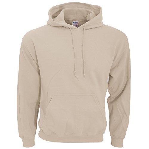 (Gildan 18500 - Classic Fit Adult Hooded Sweatshirt Heavy Blend - First Quality - Sand -)