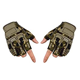 Adroitz Half Bike Gloves for Bikers/Outdoor