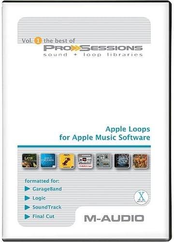 M-AUDIO Best Of Pro-Sessions ( Windows/Macintosh ): Video Games
