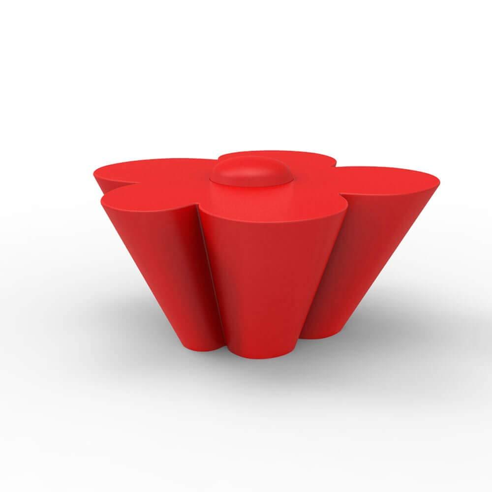 Vondom Agatha mesa baja baby de exterior rojo: Amazon.es: Jardín