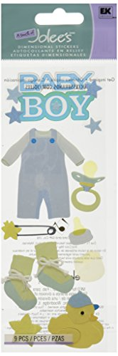 Jolees Baby Collection - Jolee's Boutique Dimensional Sticker, Baby Boy