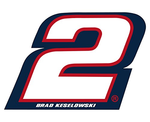 (NASCAR #2 Brad Keselowski Jumbo Number Magnet-NEW for 2016)