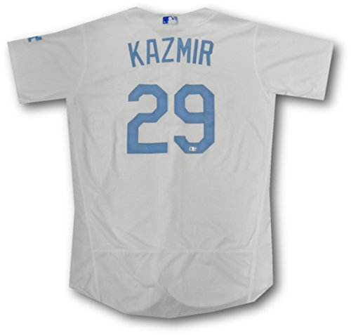 Scott Kazmir Official Major League GAME USED Jersey Fathers Day June 19, 2016