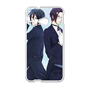 Black Butler HTC One M7 Cell Phone Case White PhoneAccessory LSX_879699